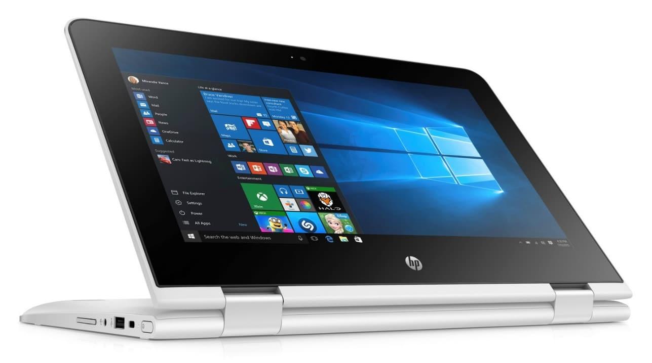 HP x360 11-ab102nf, ultraportable 11 pouces Tablette IPS Gemini SSD à 449€