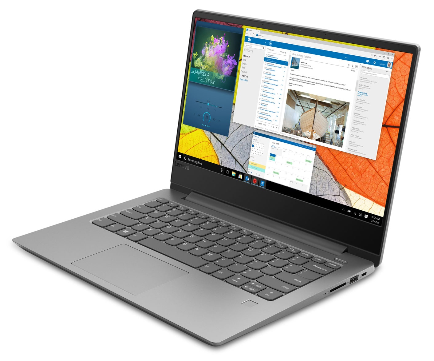 "Lenovo IdeaPad 330S-14AST, ultraportable 14"" SSD+HDD Stoney (449€)"