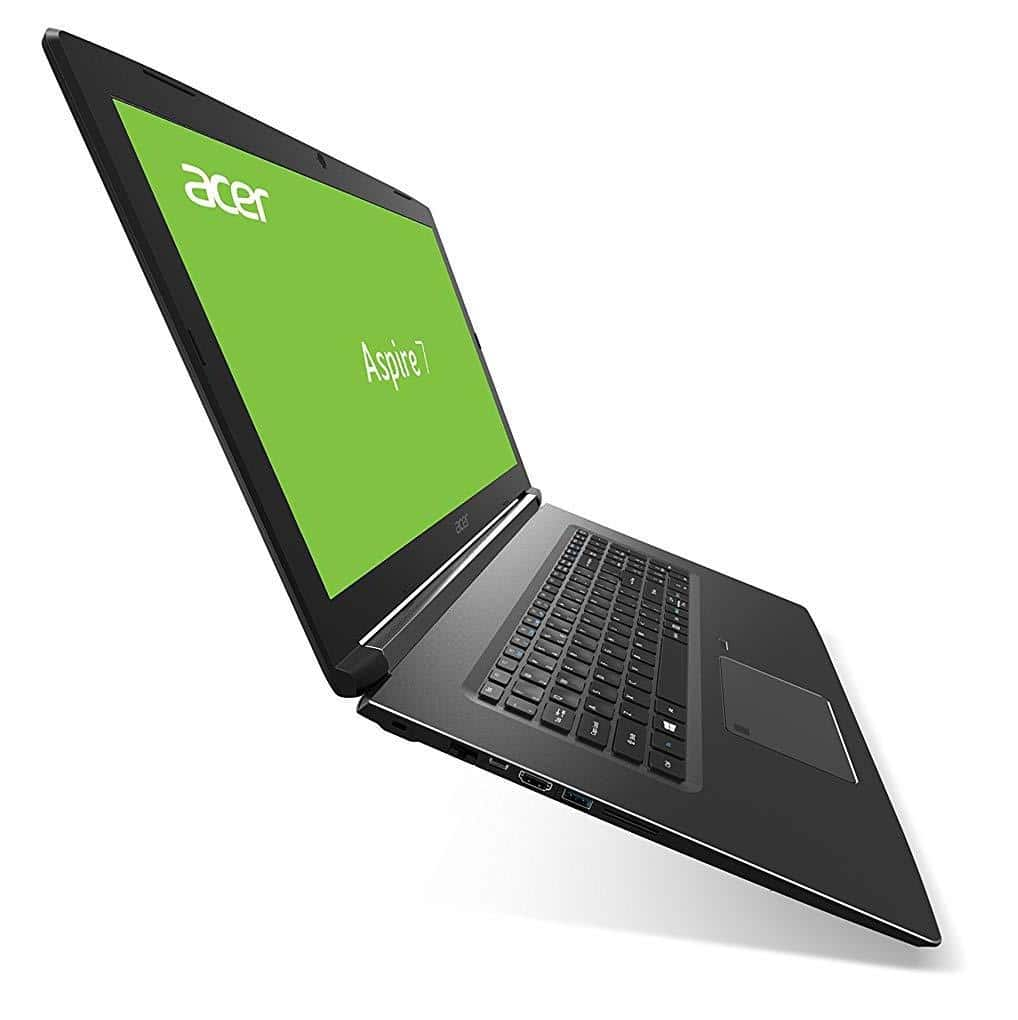 "Acer Aspire A717-72G-78VM, PC portable 17"" Full IPS Hexa i7 GTX SSD (934€)"