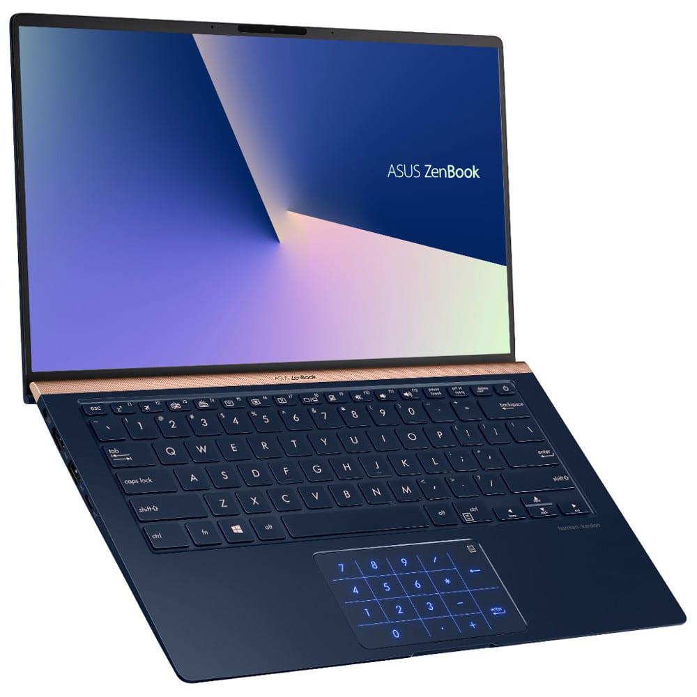 """Asus UX433FA-A5045T, Ultrabook 14"""" léger pavé num (759€)"""