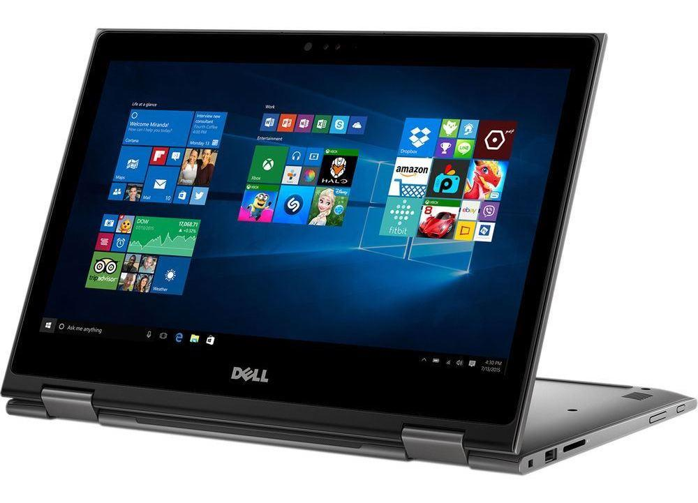"Dell Inspiron 13 5379, 13"" convertible Full tactile SSD 512 16Go Quad i7 à 849€"