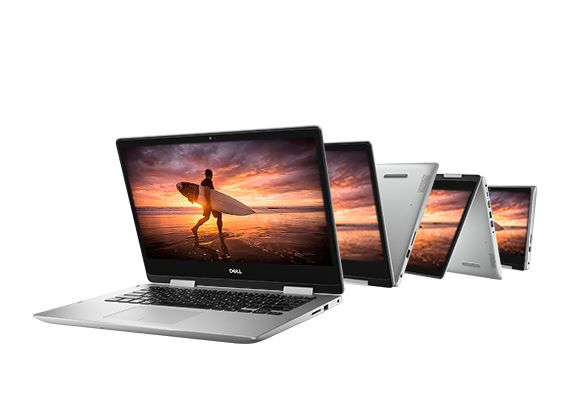"Dell Inspiron 14 5482, Ultrabook 14"" Tablette Quad i5 Whiskey Lake SSD 256 (649€)"
