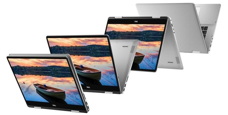 """Dell Inspiron 7586, Ultrabook 15"""" IPS tactile Full/4K Tablette Whiskey Lake MX150"""