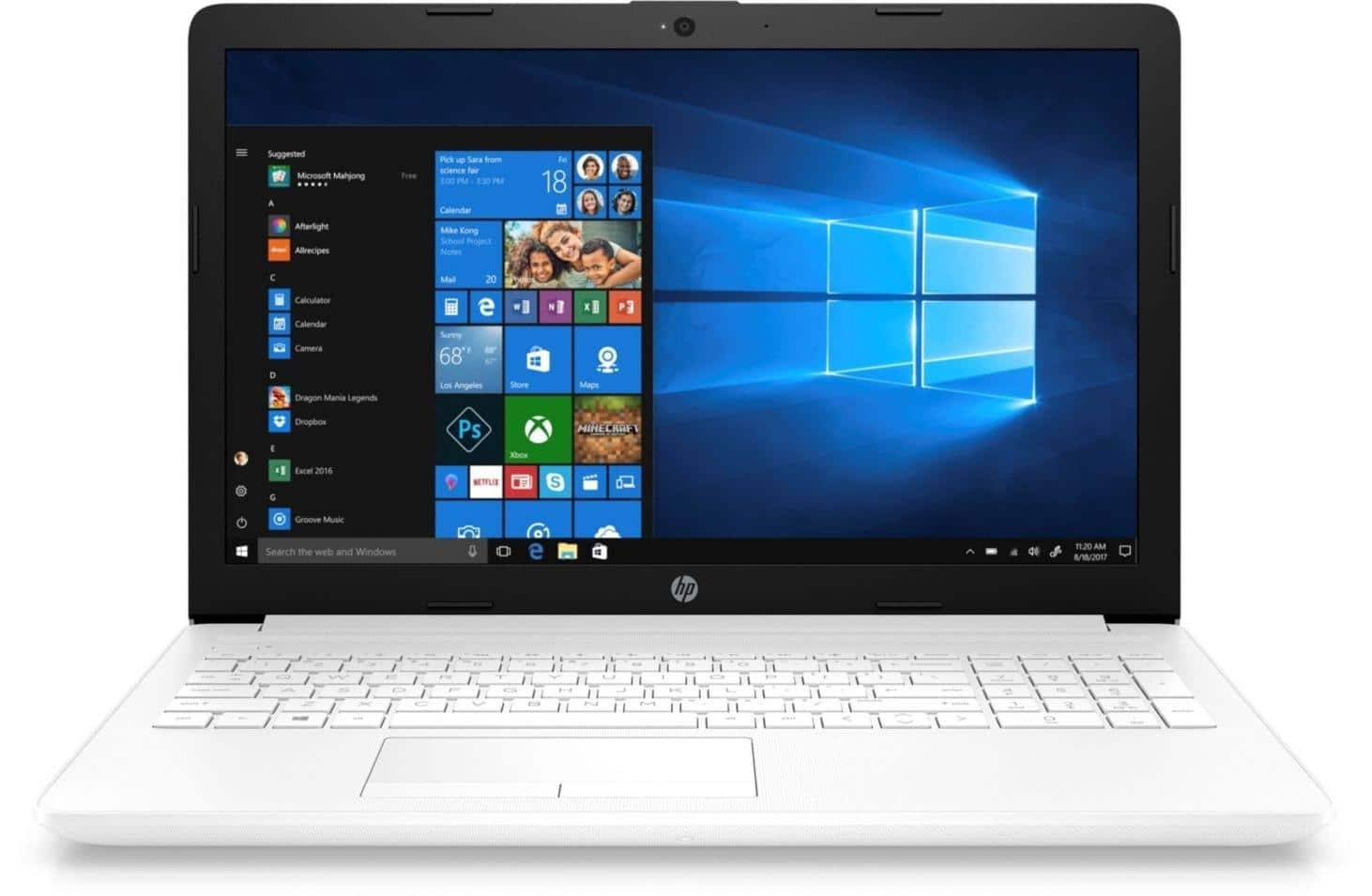 HP 15-db0052nf, PC portable 15 pouces Blanc SSD+HDD Radeon Stoney à 499€