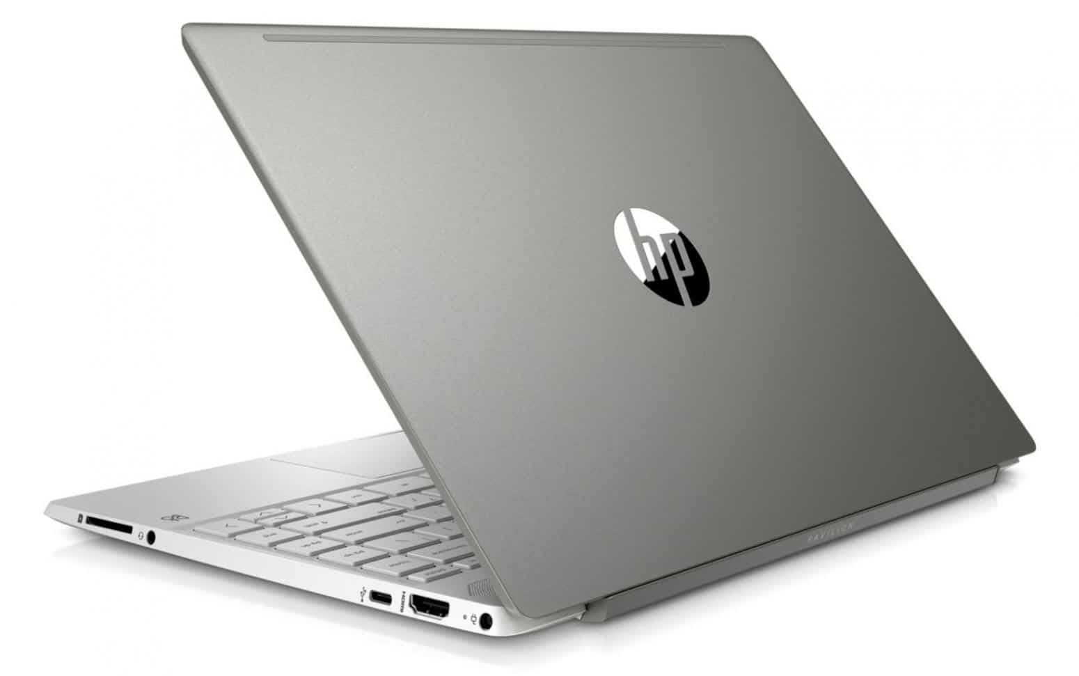 HP Pavilion 13-an0006nf, ultrabook 13 pouces Whiskey Lake SSD IPS (799€)