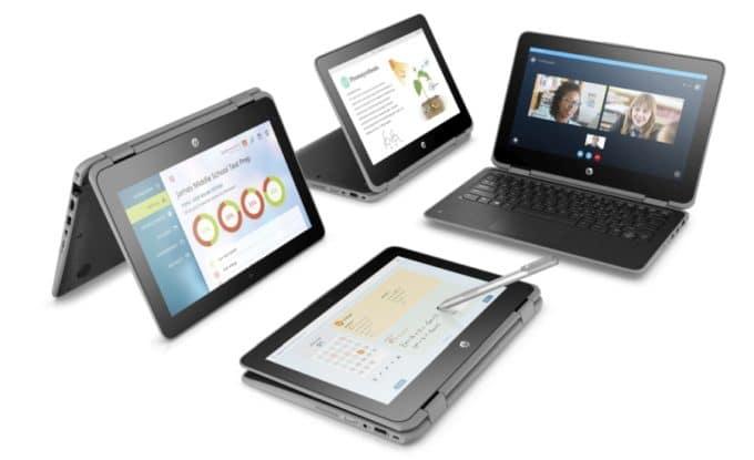 "<span class=""tagtitre"">HP - </span>ultraportables éducatifs ProBook x360 11 G3/G4, Stream 11 Pro G5"