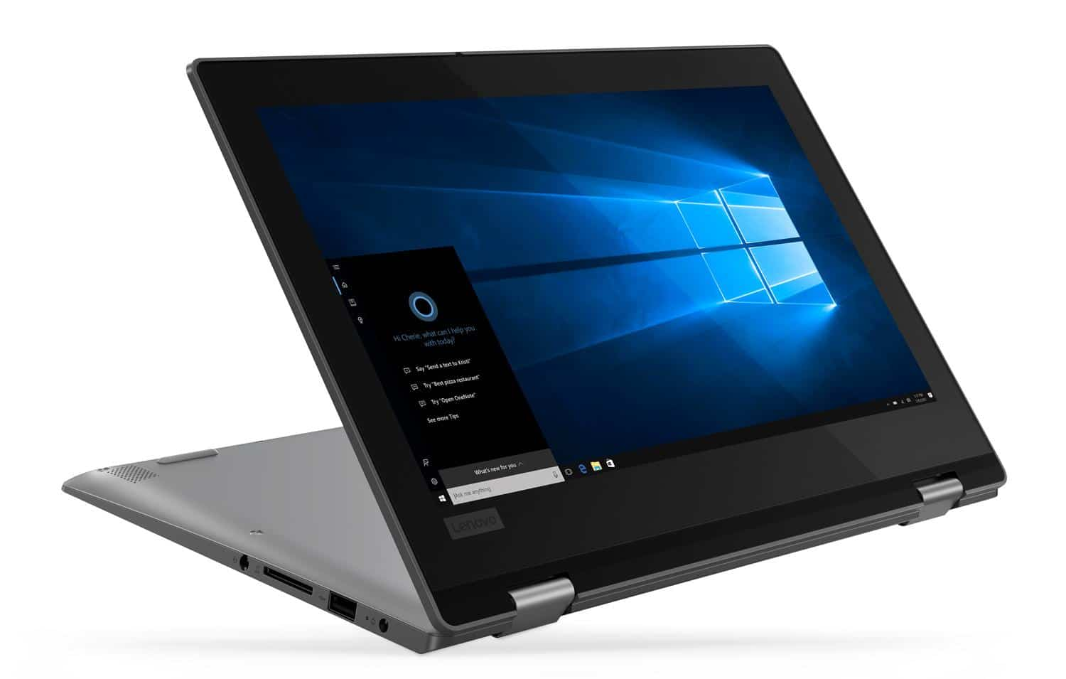 Lenovo Yoga 330-11IGM, 11 pouces Tablette tactile Gemini Lake 128Go (371€)