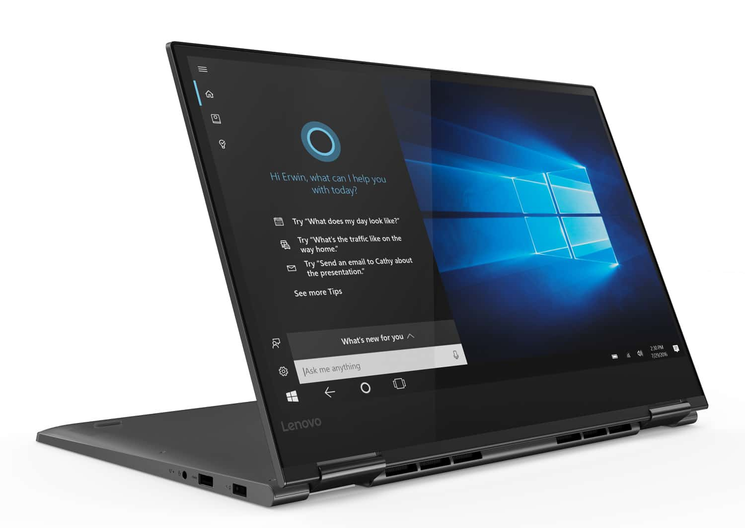"Lenovo Yoga 730-15IWL, ultrabook 15"" Tablette GTX (799€)"