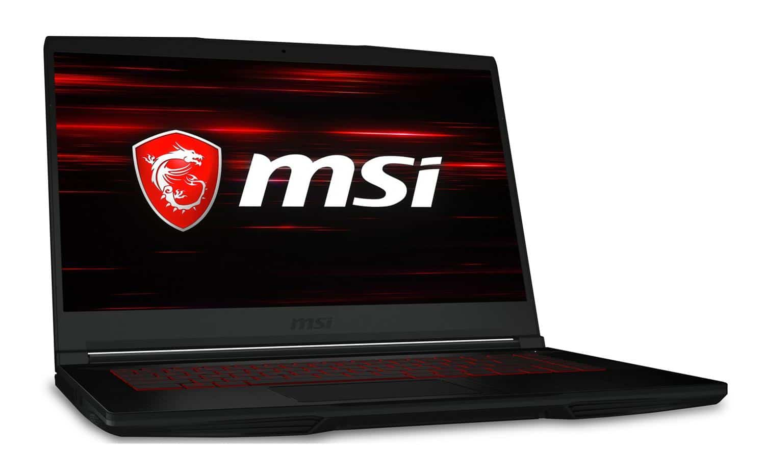 "MSI GF63 8RC-288FR, PC portable 15"" Coffee Lake GTX 1050 (699€)"