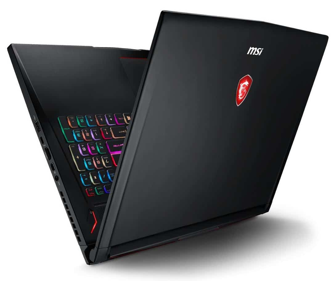 MSI GS73 8RF-063FR, ultrabook gamer 120Hz GTX 1070 (1499€)