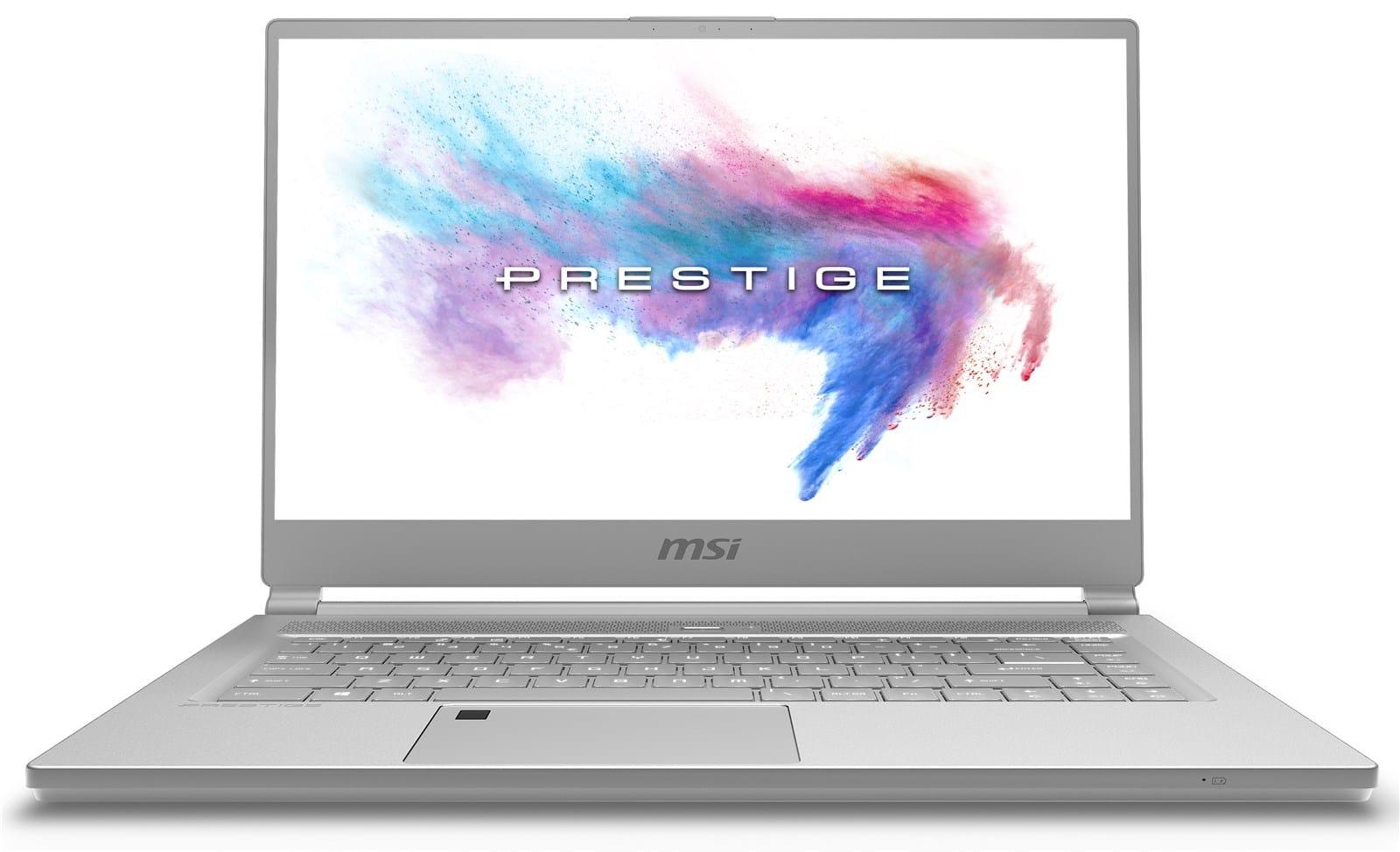 """MSI P65 8RE-054FR, ultrabook 15"""" fin & léger GTX 1060 Hexa i7 (1549€)"""