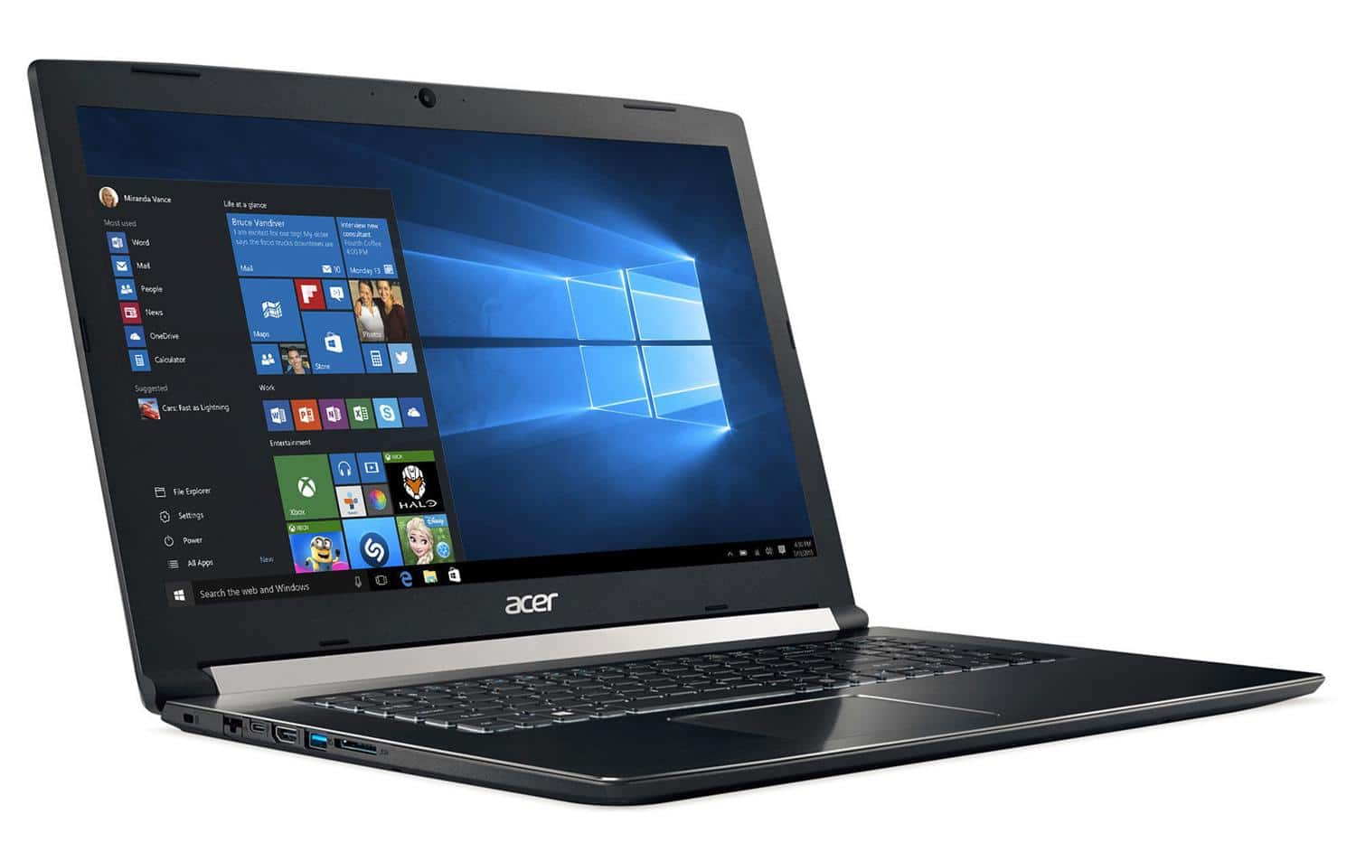 "Acer Aspire A717-71G-766X, 17"" portable polyvalent (1199€)"