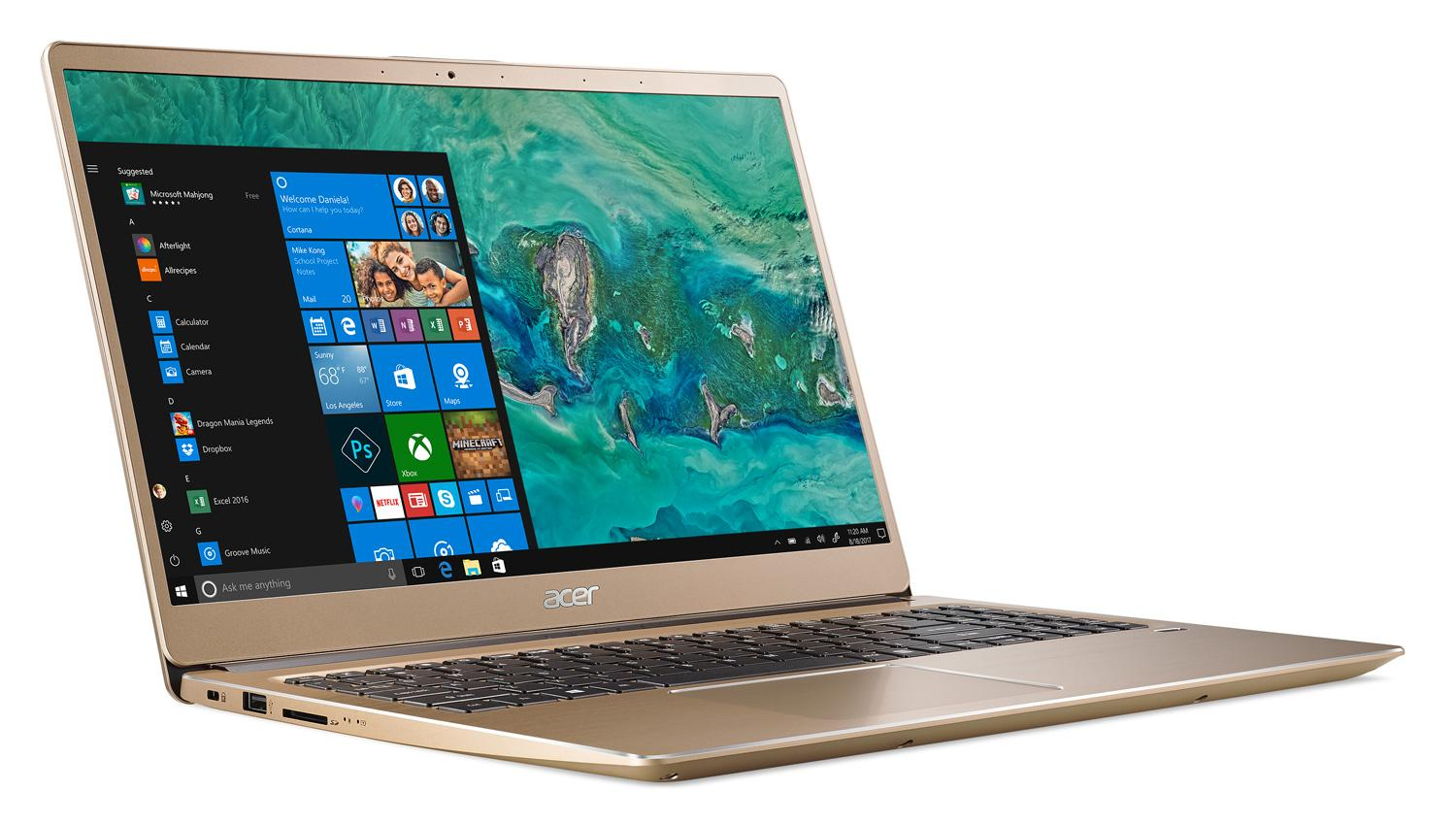 "Acer Swift 3 SF315-52-57LS, 15"" ultrabook Or Optane (665€)"