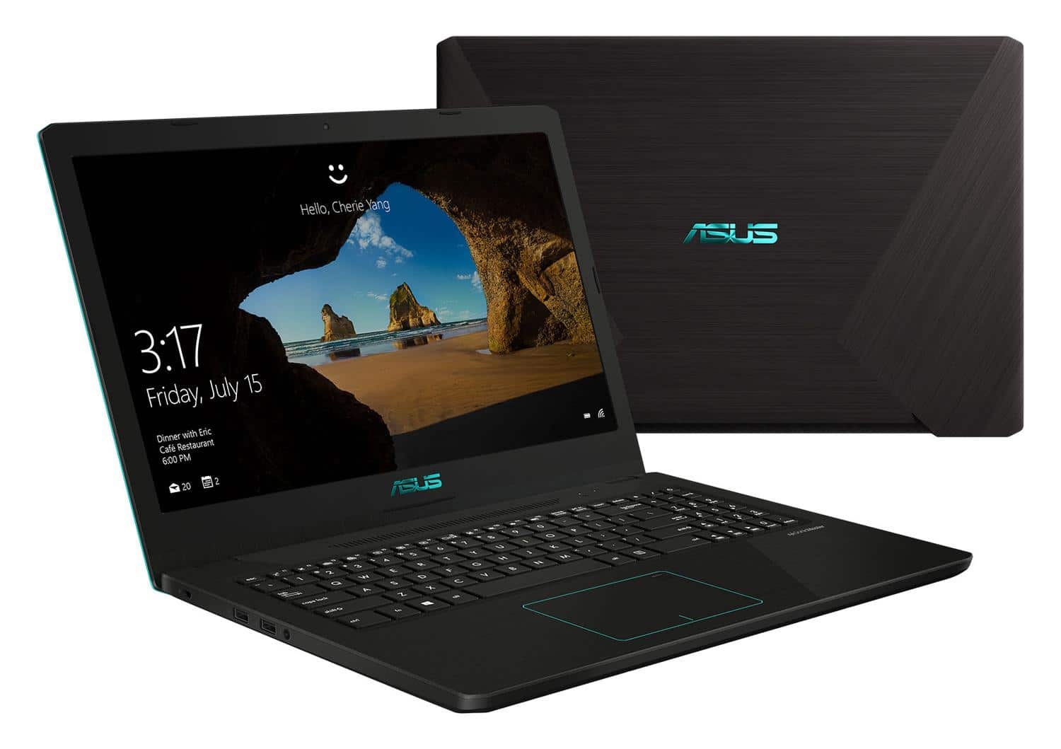 "Asus FX570ZD-DM194T, PC portable 15"" Full SSD 256 Quad GTX 1050 (664€)"