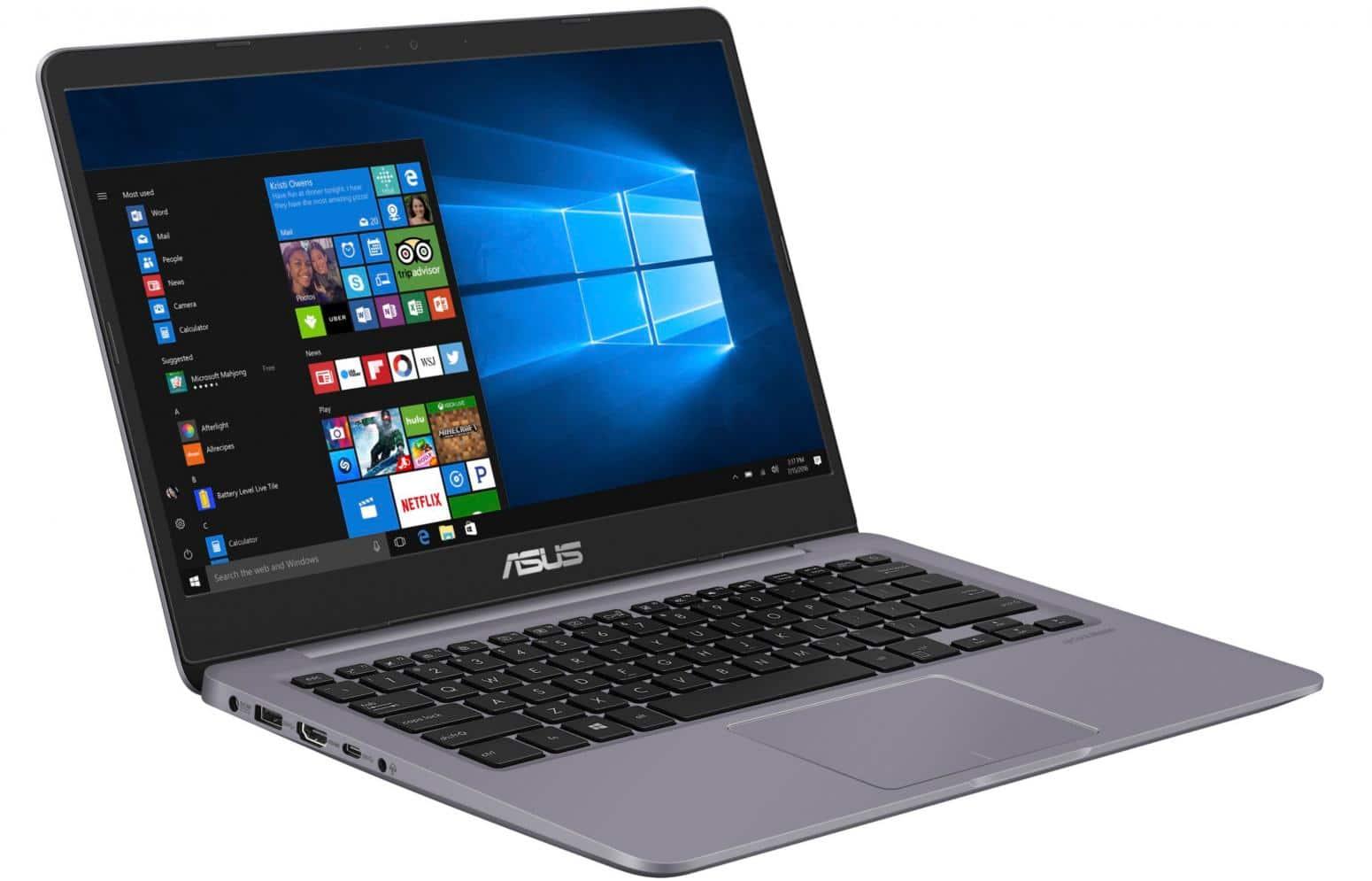 "Asus VivoBook S410UA-EB1071T, ultrabook 14"" rapide (479€)"
