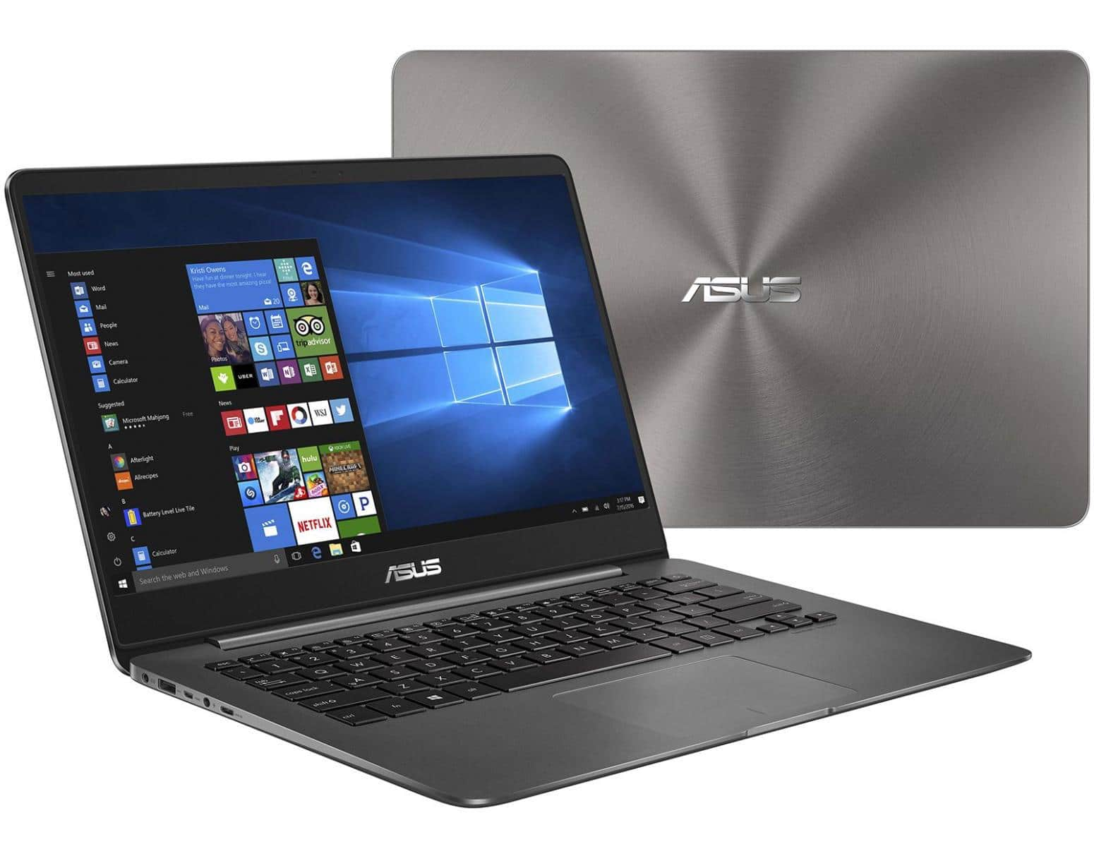 """Asus Zenbook UX430UA-GV595T, ultrabook 14"""" Full IPS Quad i7 SSD256 à 799€"""