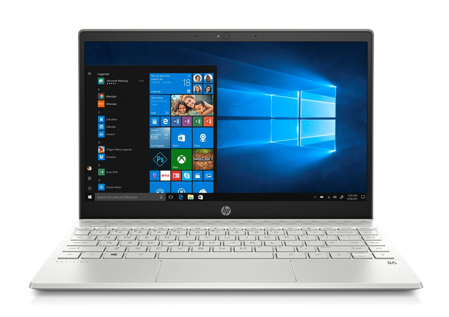 "HP Pavilion 13-an0005nf, Ultrabook 13"" rapide (499€)"