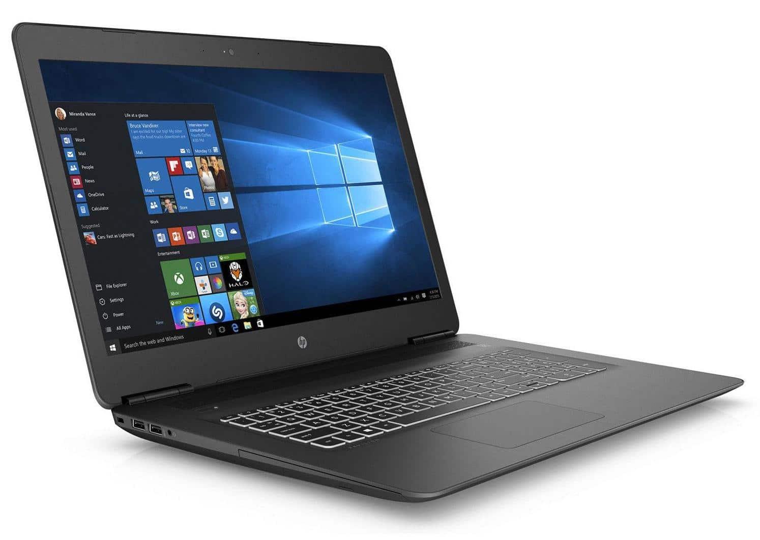 Solde PC portable gamer pas cher HP Pavilion 17-ab402nf à 599€