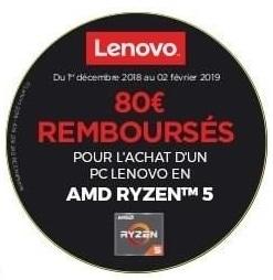 """<span class=""""tagtitre"""">Bon Plan - </span>50€ à 80€ remboursés sur PC portables Lenovo IdeaPad 330(s)/530S, Yoga 530"""