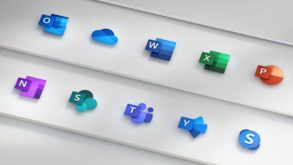 Microsoft Windows 10 Office icones 1
