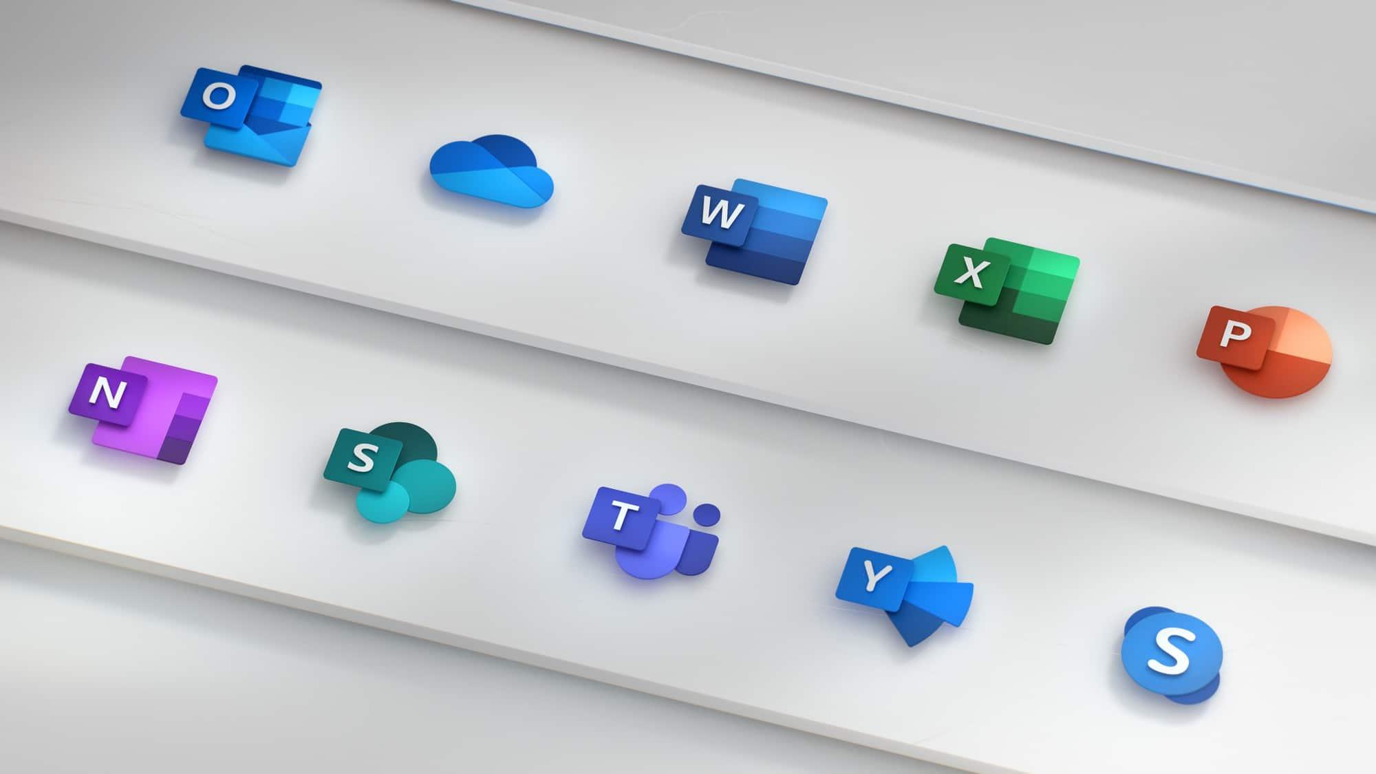 Microsoft prépare de nouvelles icônes pour Windows 10 et Office