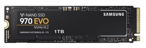 SSD au format PCI-e NVMe pour ordinateur portable