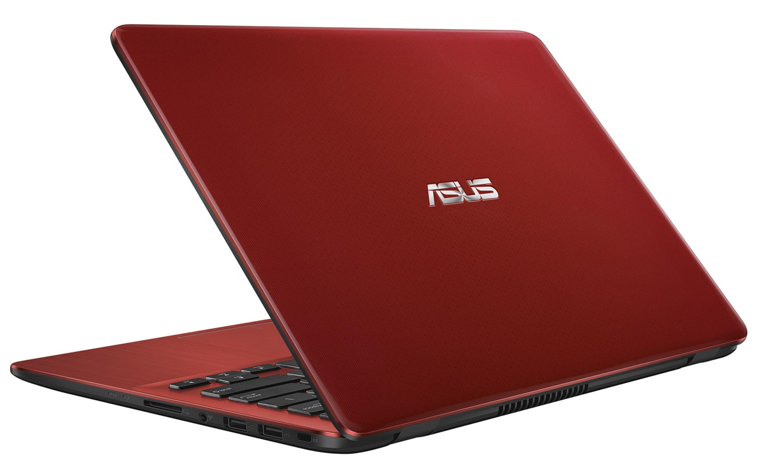 Asus S405UR-BV123T, ultrabook rouge SSD 256Go (359€)
