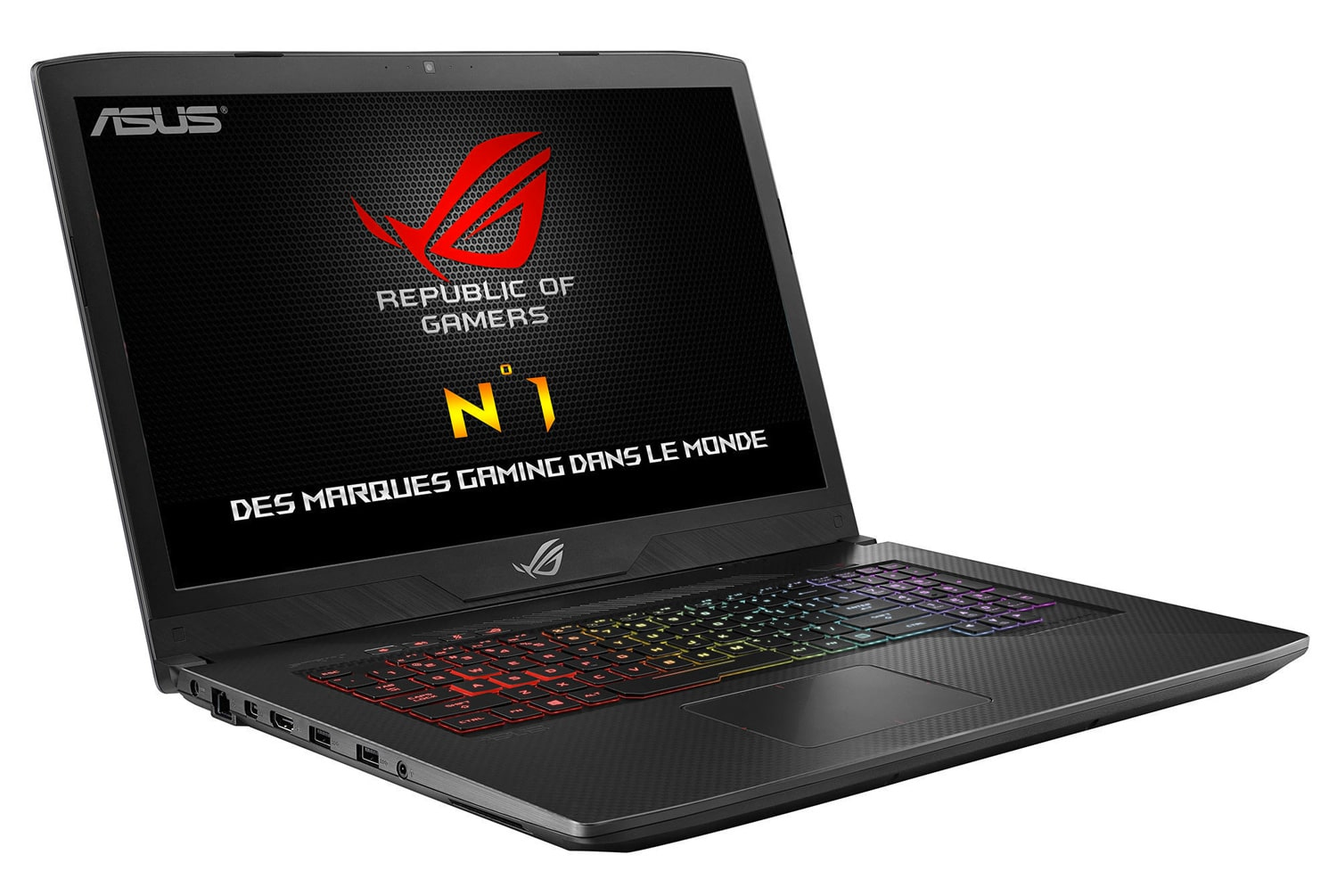 "Asus GL703GS-EE066, PC portable gamer 17"" GTX 1070 (1439€)"