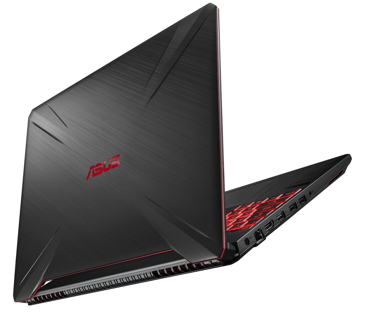 "<span class=""tagtitre"">CES 2019 - </span>Asus TUF FX505DY/FX705DY, PC portables gamer Quad Ryzen"