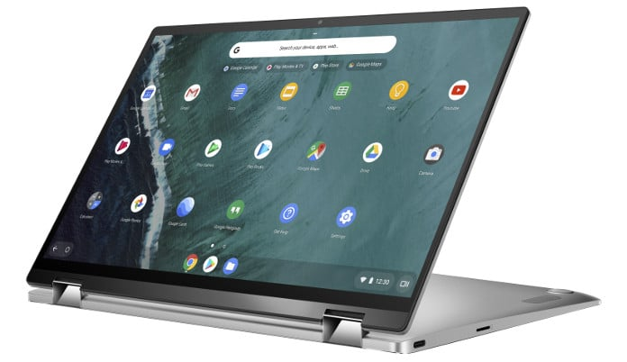 "<span class=""tagtitre"">CES 2019 - </span>Asus Chromebook Flip C434, 14"" Full HD IPS 2-en-1 Core i7"