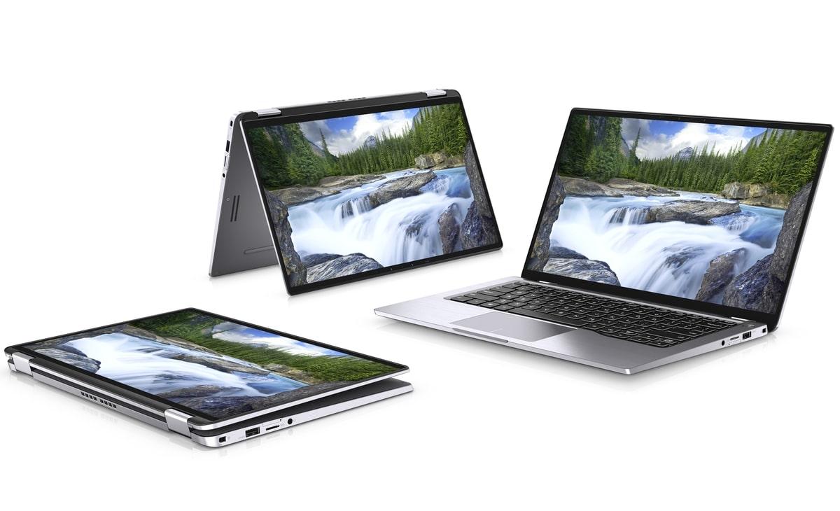 """<span class=""""tagtitre"""">CES 2019 - </span>Dell Latitude 7400, Ultrabook 14"""" 2-en-1 Quad 4G 24h"""