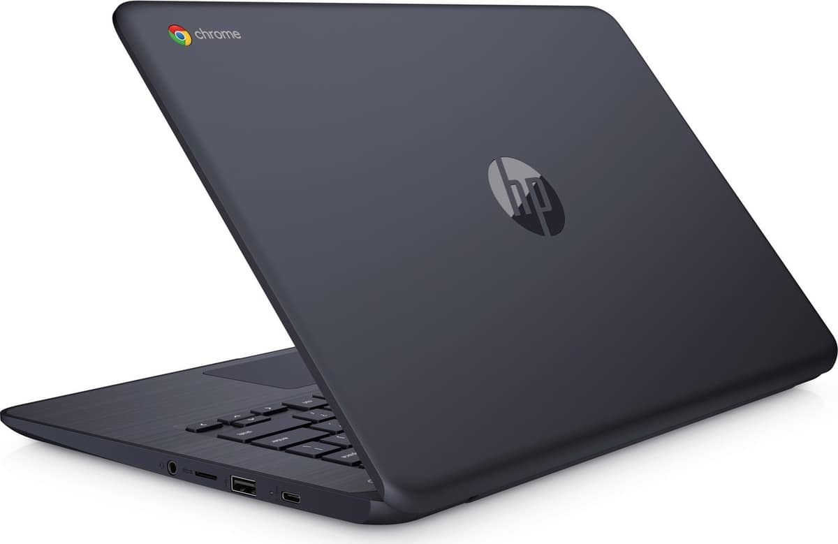 "<span class=""tagtitre"">CES 2019 - </span>HP Chromebook 14, PC portable 14"" processeur AMD 9h"