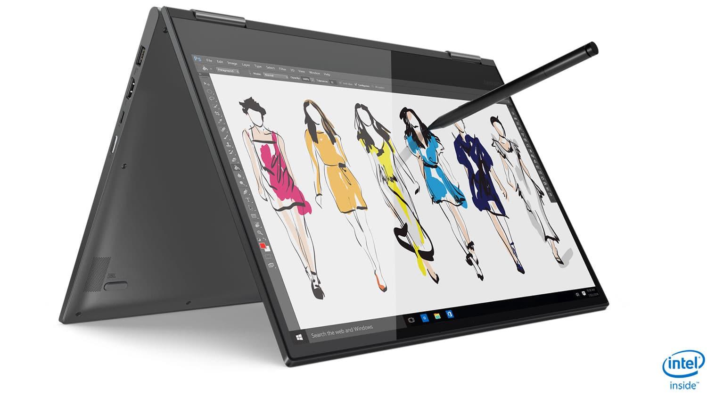 "<span class=""tagtitre"">CES 2019 - </span>Lenovo Yoga C730, Ultrabook 15"" 4K AMOLED 2-en-1 Quad"