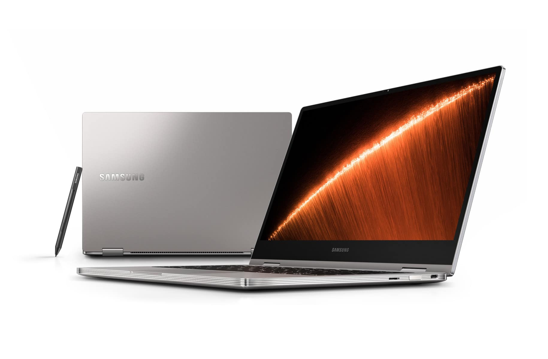 """<span class=""""tagtitre"""">CES 2019 - </span>Samsung Notebook 9 Pro, Ultrabook 13"""" élégant Quad 2-en-1"""