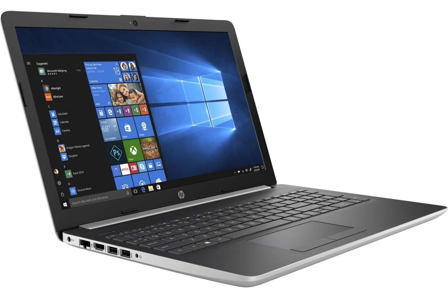 HP 15-da0102nf, PC portable 15 pouces bureautique (579€)