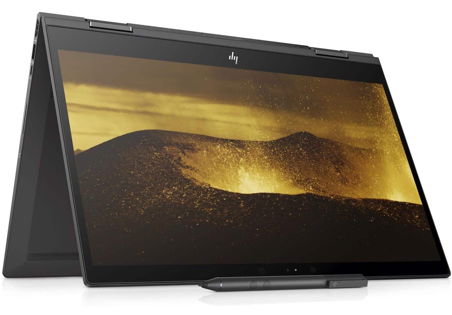 "HP Envy x360 15-cp0001nf, 15"" tablette tactile design (999€)"