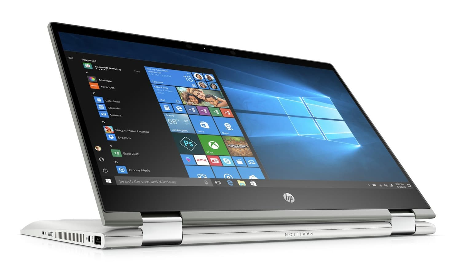 "HP Pavilion x360 14-cd1012nf, Ultrabook 14"" Tablette rapide (799€)"