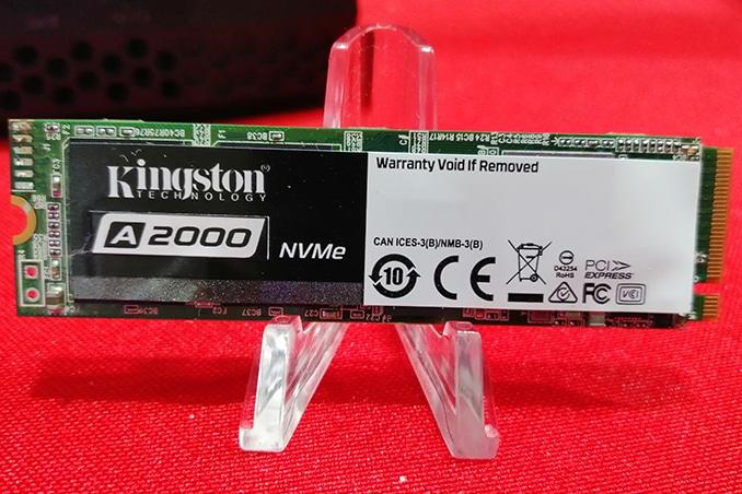 Kingston A2000 et KC2000, nouveaux SSD M.2 NVMe