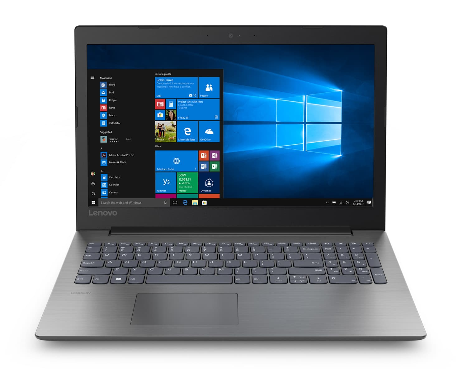 "Lenovo IdeaPad 330-15IGM, PC portable 15"" mat noir (339€)"