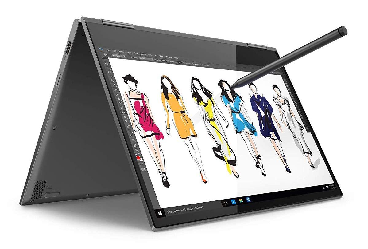 "Lenovo Yoga 730-13IKBR, ultrabook 13"" Tablette Stylet (869€)"