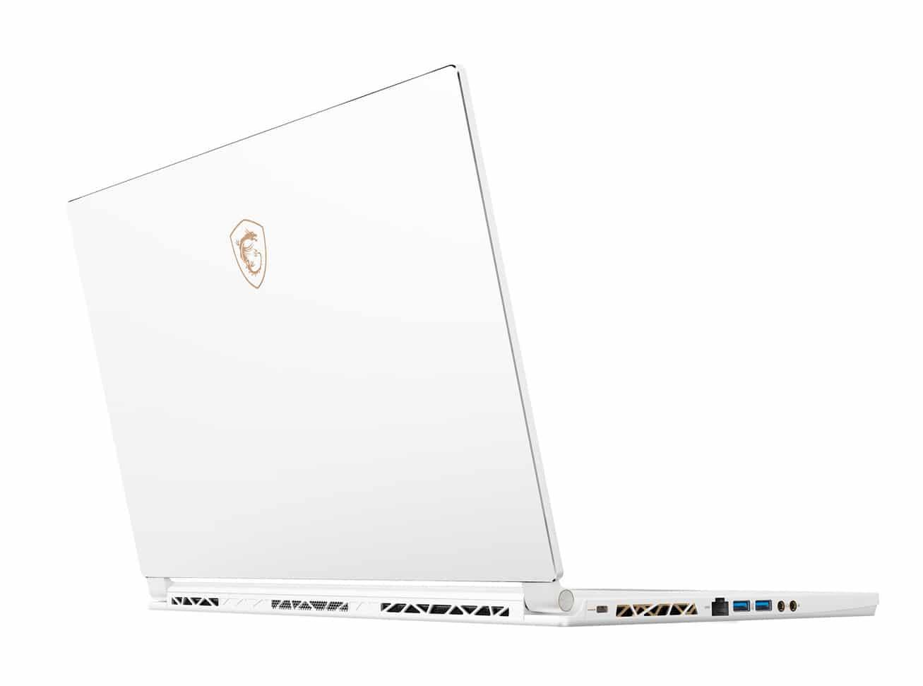 "MSI P65 8RF-494FR, PC blanc 15"" léger et fin, jeu intensif (1968€)"