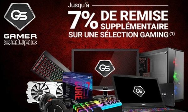 Rue du Commerce Réductions GS7 GS6