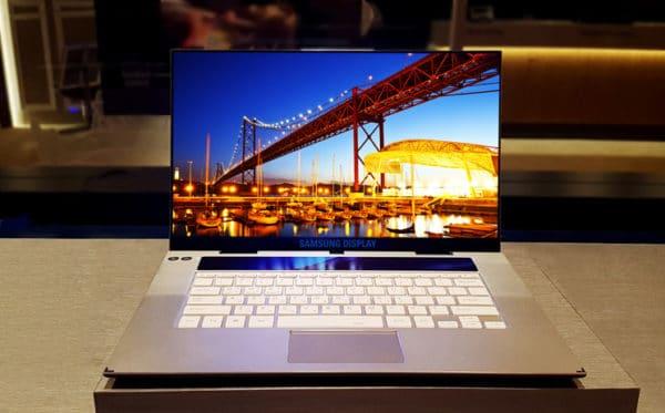 Samsung écran OLED 4K 15.6 pouces