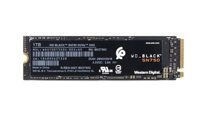 Western Digital Black SN750, SSD M.2 NVMe abordable jusqu'à 2 To