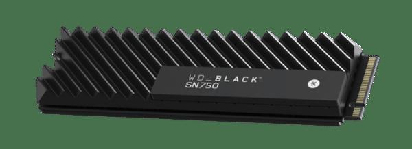 Western Digital Black SN750 Heatsink