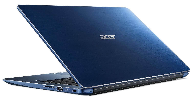 Acer Swift SF314-56-514U, 14 pouces bleu bonne autonomie (498€)