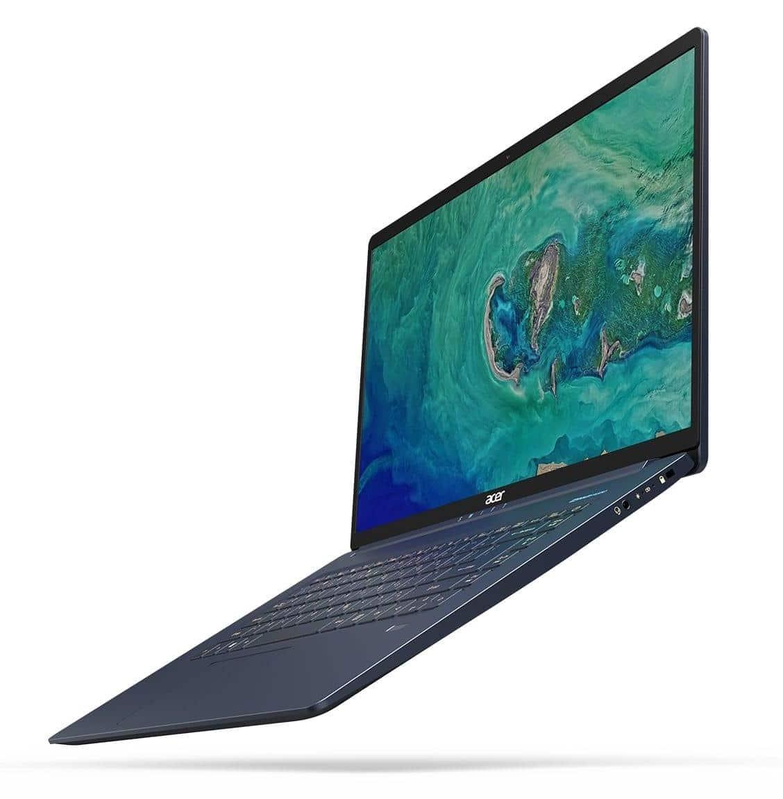 """Acer Swift SF515-51T-55ZM, 15"""" Tactile Bleu moins de 1 kg (759€)"""