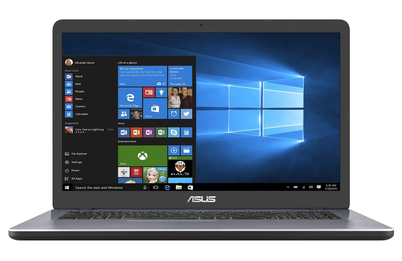 Asus R702UA-BX275T, PC portable 17 pouces léger rapide (499€)