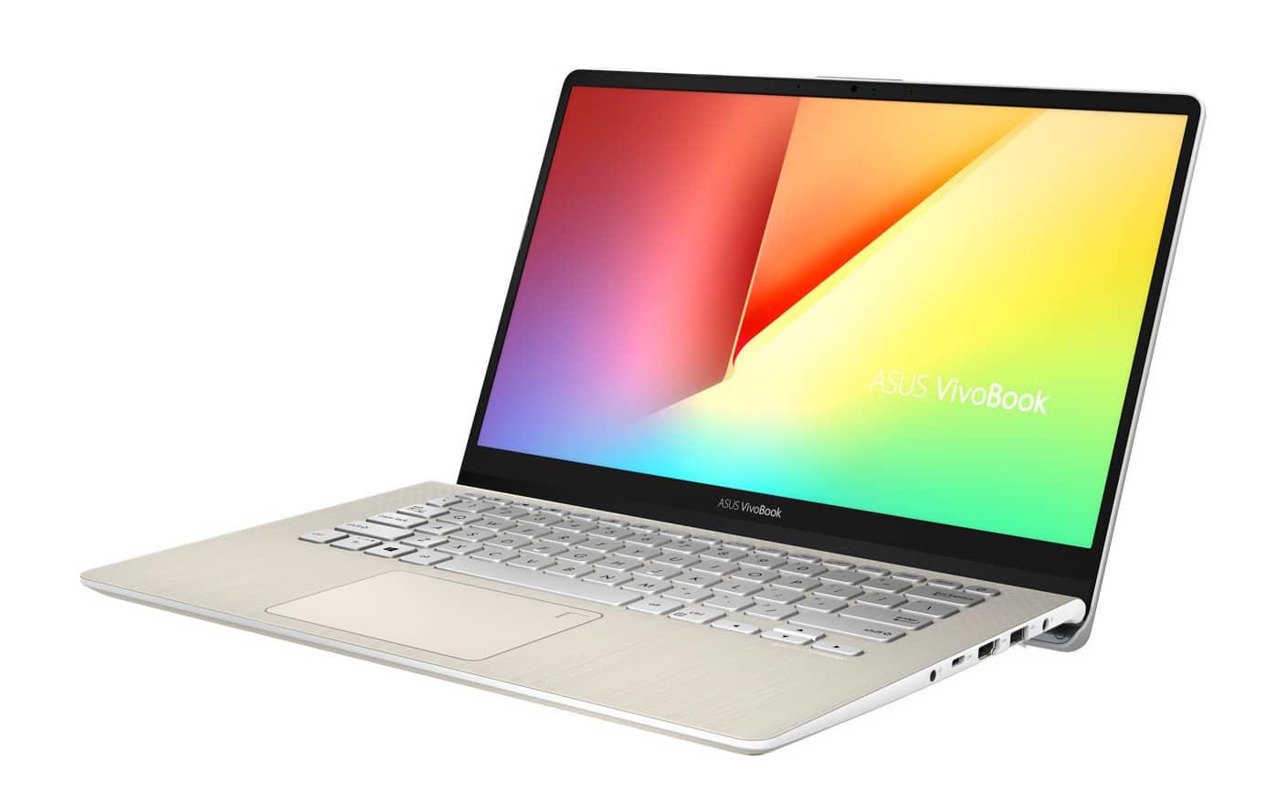 """Asus VivoBook S430FA-EB128T, Ultrabook 14"""" Or rapide (719€)"""