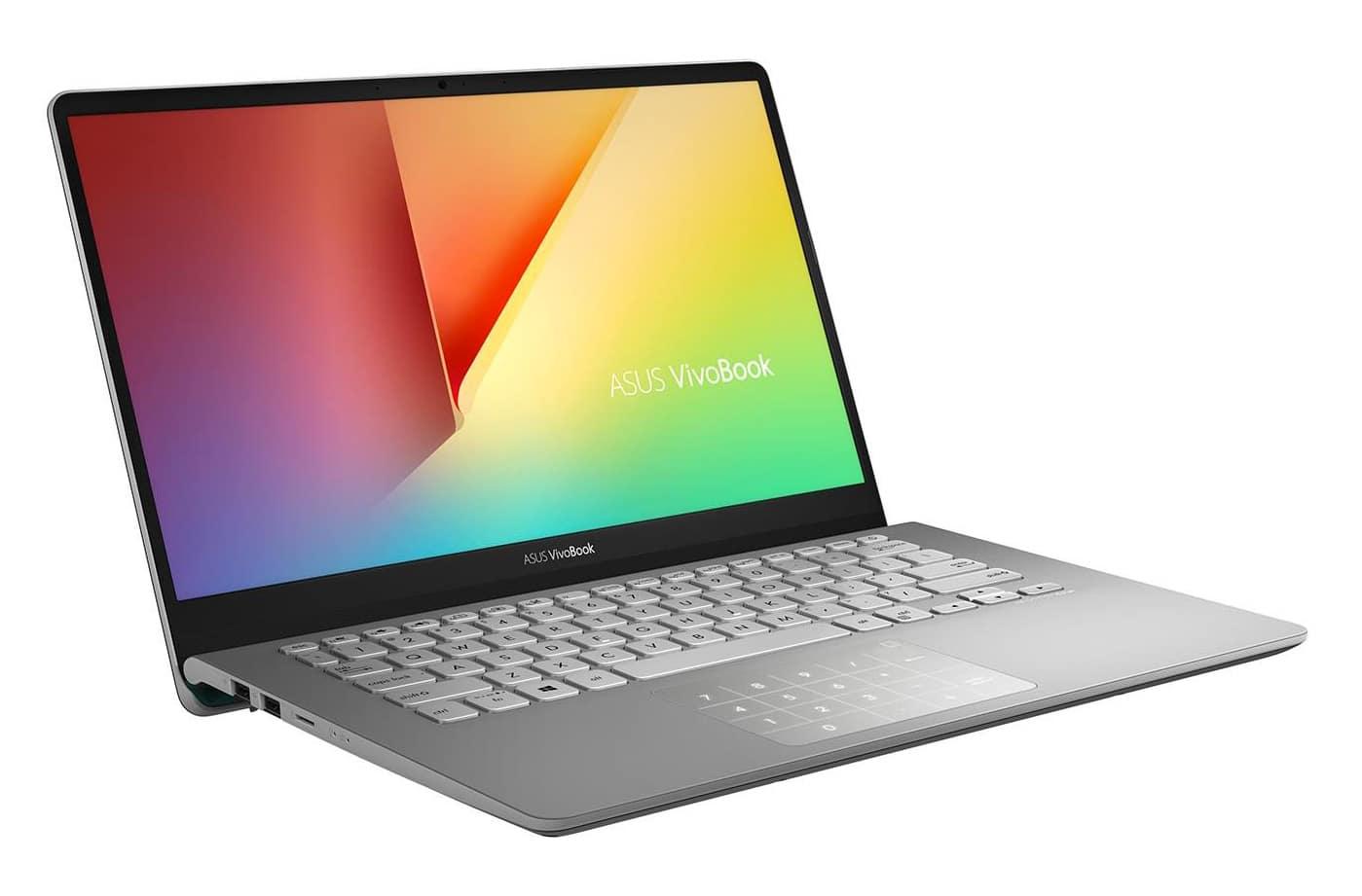 "Asus S430FA-EB061T, Ultrabook 14"" NumPad rapide (719€)"